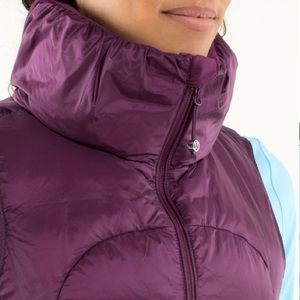 NWOT Lululemon Fluffin' Awesome Vest Plum
